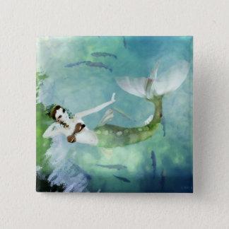 Att simma med laxen knäppas standard kanpp fyrkantig 5.1 cm