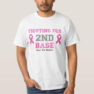 Att slåss för 2ND baserar t-skjortan Tee Shirt