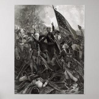 Att storma av stenigt pekar, Juli 1779 Affisch