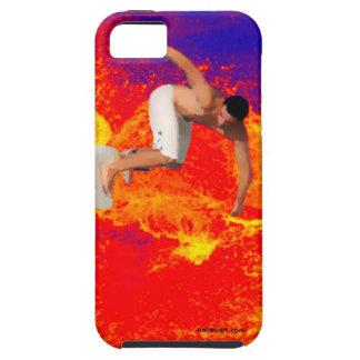 Att surfa på avfyrar det mobila fodral iPhone 5 cover