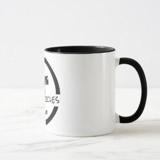 Att tala in cirklar kaffemuggen mugg