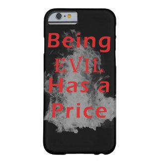 Att vara ont har ett pris barely there iPhone 6 fodral