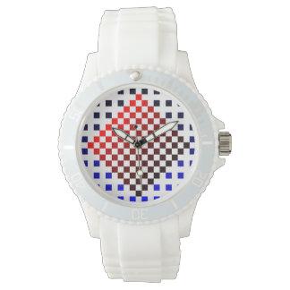 Åtta bet abstraktion armbandsur