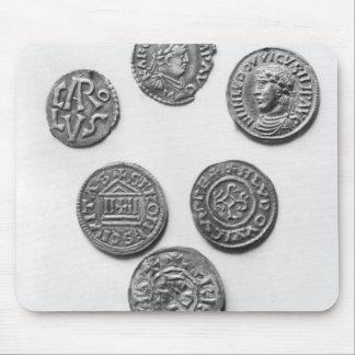 Åtta Carolingian mynt Musmatta