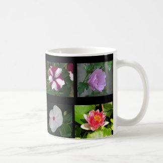 Åtta olika blommor 3 kaffemugg