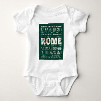 Attraktioner och berömd ställen av Rome, italien Tee