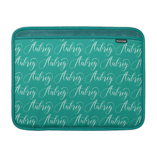 Aubrey - modern Calligraphynamndesign MacBook Air Sleeve