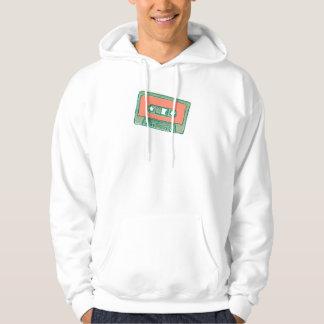 Audio tejpar skissar hoodie