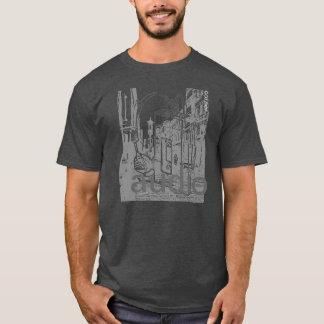 audio: vid tränga någon utslagsplatsskjortor t-shirt