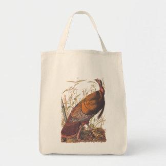 Audubons vildTurkiet modig fågel i hösten Tygkasse