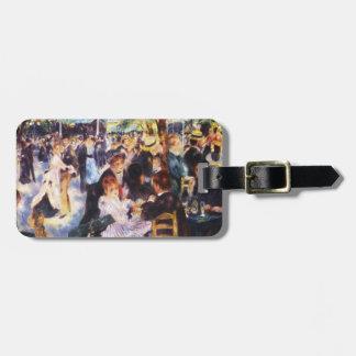 Auguste Renoir - dansa på Le moulin de la Galette Bagagebricka