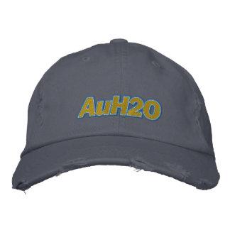 AuH2O broderad hatt
