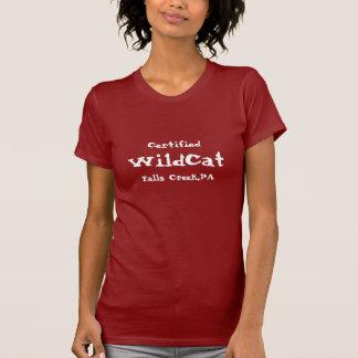 Auktoriserad vildkatt, nedgångbäck, PA Tee Shirts