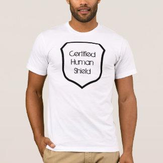 Auktoriseradmänniskan skyddar t-shirt