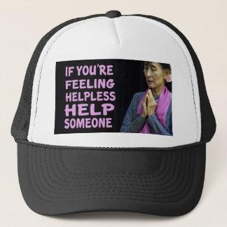 Aung San Suu Kyi citationstecken Truckerkeps