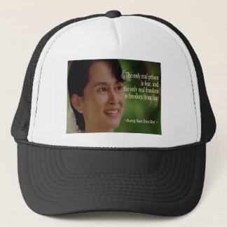 Aung San Suu Kyi truckerkeps