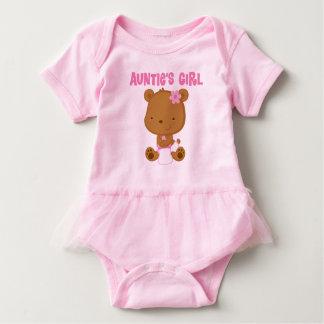 Aunties utslagsplats för Tutu för flickor för Tee Shirt
