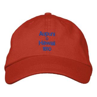 Aupuni nolla-Hawaii hatt 1810 Broderad Keps
