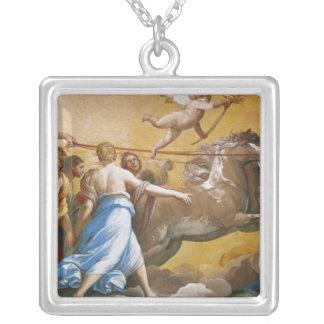 Aurora 1613-14 silverpläterat halsband