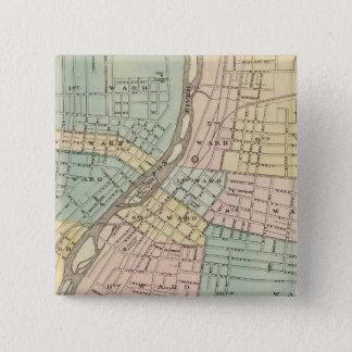 Aurora, Naperville och Wheaton Standard Kanpp Fyrkantig 5.1 Cm