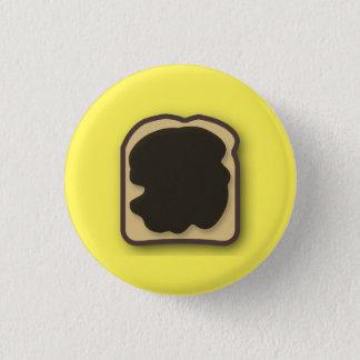Aussie jästextrakt på rostat bröd mini knapp rund 3.2 cm