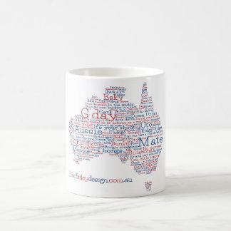 Aussie Slangmugg för speciell upplaga Kaffemugg