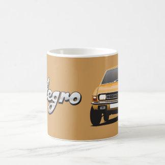 Austin Allegro DIY orange guld- mugg