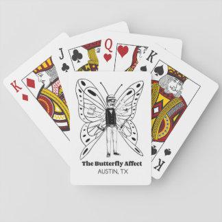 Austin BA som leker kort Spelkort