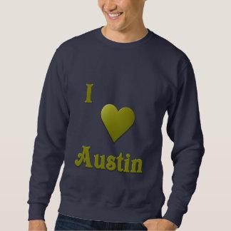 Austin -- Djupt - grönt Lång Ärmad Tröja