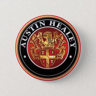 Austin Healey emblem Standard Knapp Rund 5.7 Cm