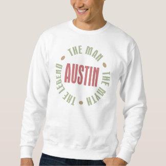 Austin manen mythen legenden lång ärmad tröja