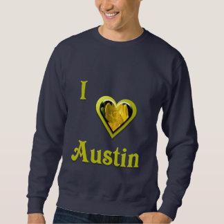 Austin -- med den gula blomman sweatshirt