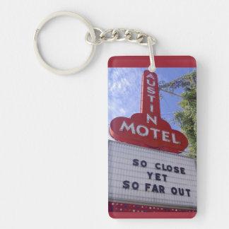 Austin motell nyckelring