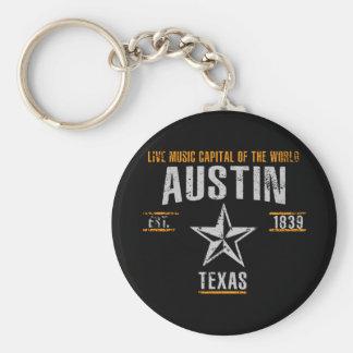 Austin Rund Nyckelring