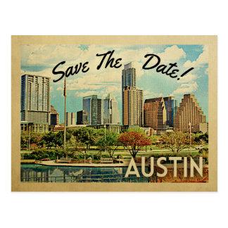 Austin spara datera Texas Vykort
