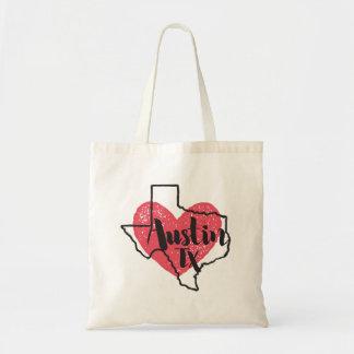 Austin Texas hänger lös den statliga totot Budget Tygkasse