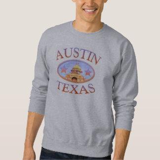 Austin Texas Lång Ärmad Tröja