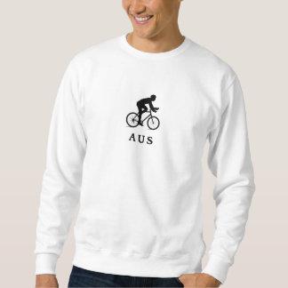 Austin Texas som cyklar AUS Sweatshirt