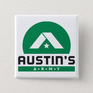 Austins armé 2 inc kvadrerar knäppas standard kanpp fyrkantig 5.1 cm