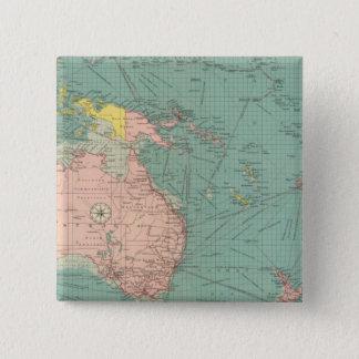 Australasian Polynesian portar Standard Kanpp Fyrkantig 5.1 Cm