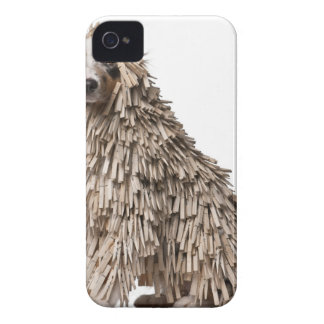 Australian shepherdvalpfullt av klädnypa (5 Case-Mate iPhone 4 case