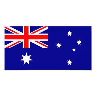 Australien - australiensisk flagga foton