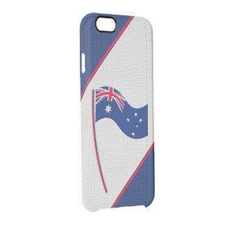 Australien Clear iPhone 6/6S Skal