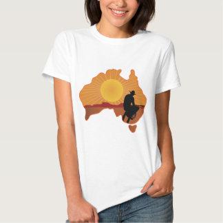 Australien Cowboy Tee Shirt