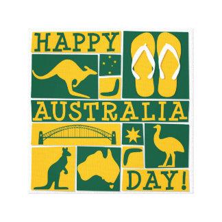 Australien dag canvastryck