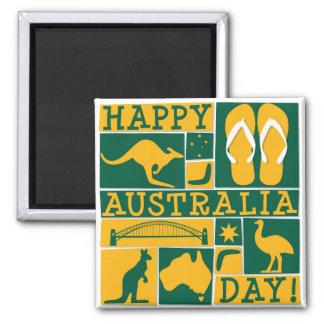 Australien dag magnet