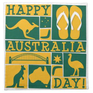 Australien dag tygservett