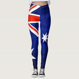 Australien flagga #2 leggings