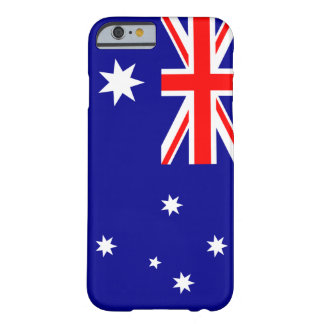 Australien flagga barely there iPhone 6 skal