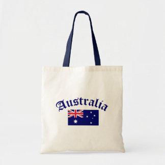 Australien flagga budget tygkasse